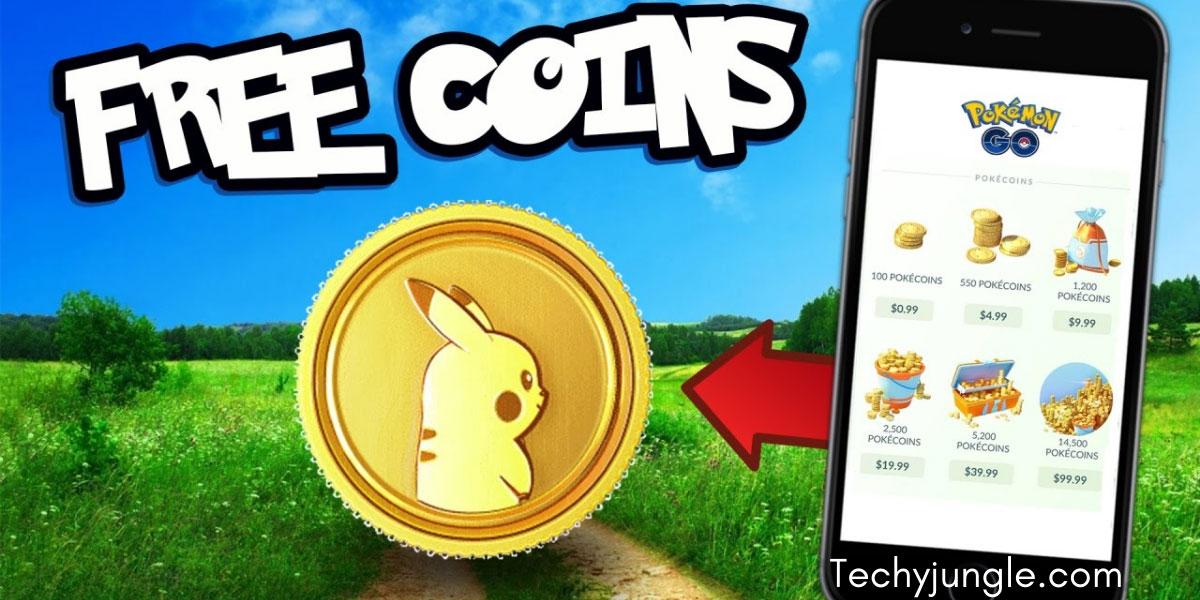 free pokecoins in pokemon go