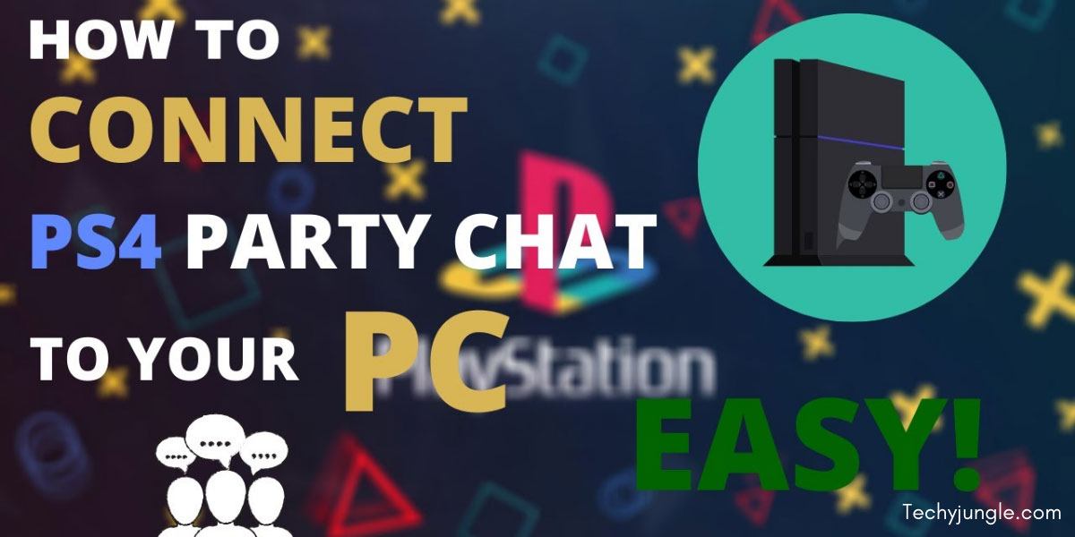 ps4 party chat