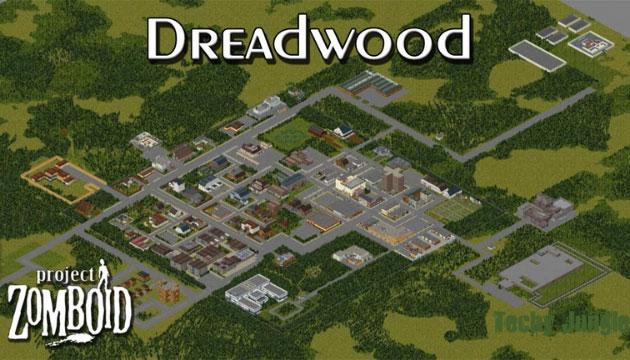 Dreadwood in PZ map