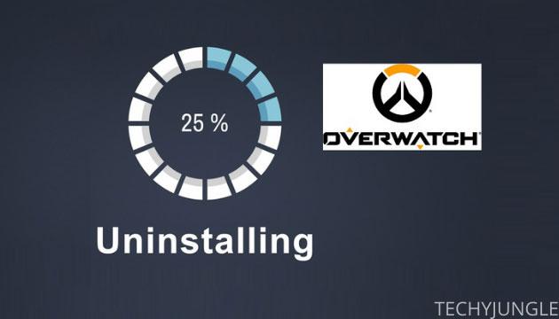 uninstall overwatch