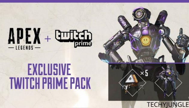 Apex legend reward with twitch prime