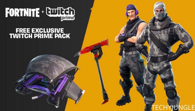 Fortnite skin with twitch
