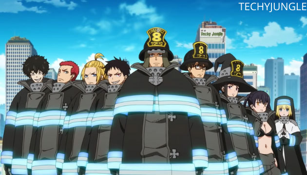 characters in fire force