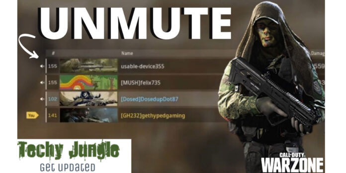How to Unmute on Warzone