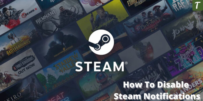 Turn off steam notifications