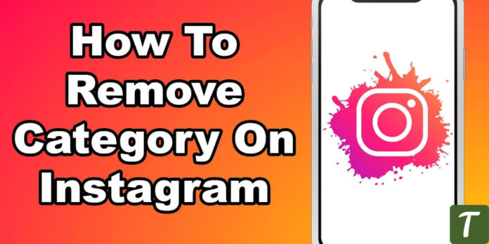 remove category instagram