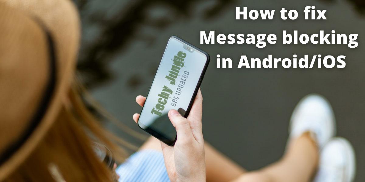 Message blocking