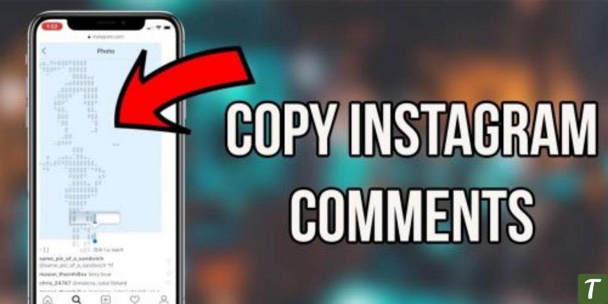 copy instagram comment