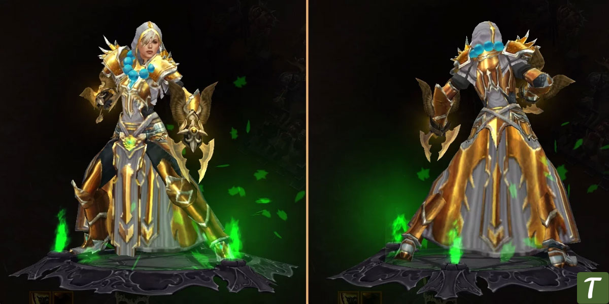 pattern of justice or Tempest Rush Monk